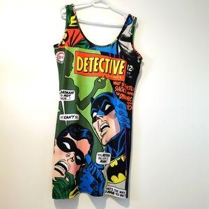 DC comics 2XL Batman and Robin dress